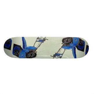 Snow blower skateboard deck