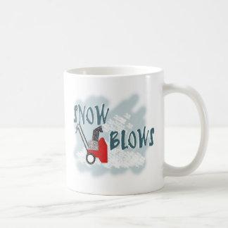 Snow Blows Coffee Mug