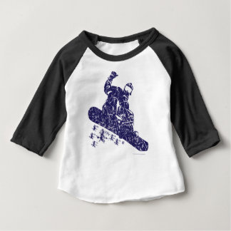 Snow-Boarder Baby T-Shirt