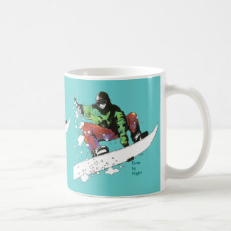 Snow Boarding Coffee Mug