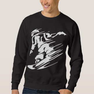 Snow Boarding Extreme Sports Sweatshirt