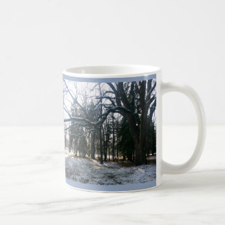 Snow Branches Mug