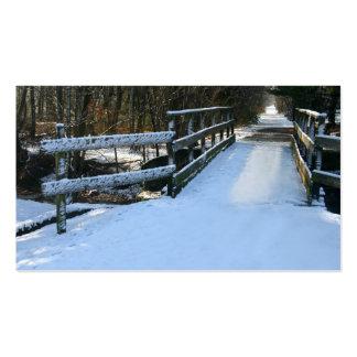 Snow Bridge Business Card