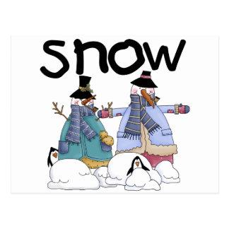 Snow Buddies Tshirts and Gifts Postcard
