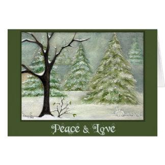 Snow Bunnies by Devyn Samara Card