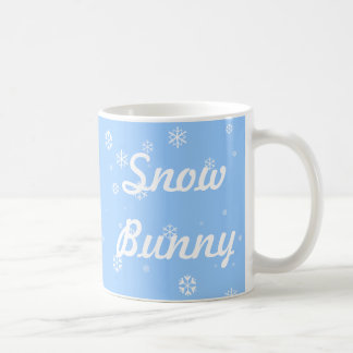Snow Bunny Basic White Mug