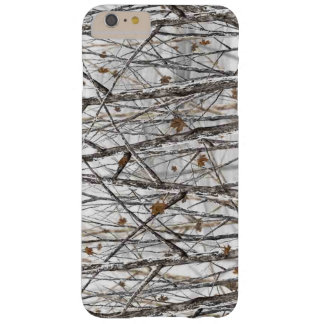 Snow Camo Barely There iPhone 6 Plus Case