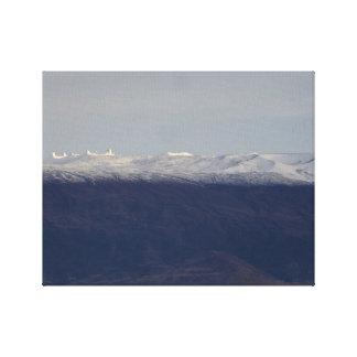 Snow Capped Mauna Kea Canvas Print