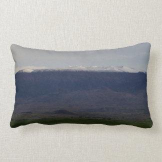 Snow Capped Mauna Kea Lumbar Cushion