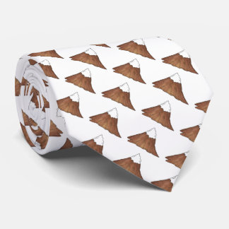 Snow Capped Mountain Peak Mountains Climbing Tie