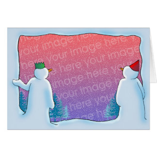 Snow Cave Greeting Card