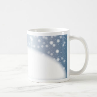 Snow Copy Space Coffee Mug