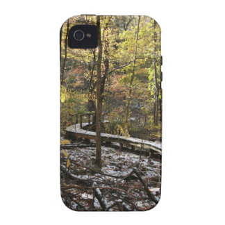 Snow Covered Bridge Vibe iPhone 4 Covers