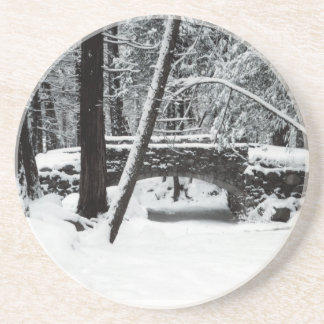 Snow Covered Bridge Coaster