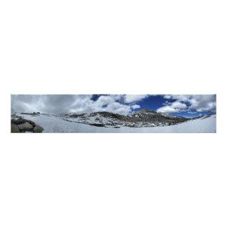 Snow Covered Donahue Pass - John Muir TraIl Photo Print