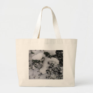 Snow Covered Holly Bags