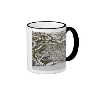 Snow-covered Japanese maple 2 Mug