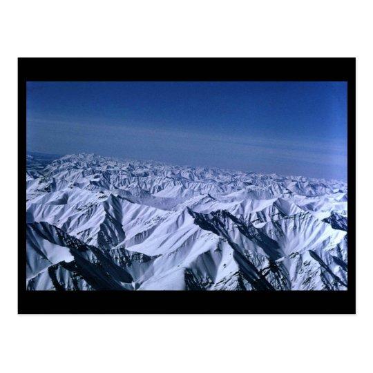 Snow-covered Mountain Peaks Brooks Range Postcard
