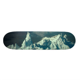 Snow Covered Swiss Alps Skateboard Deck