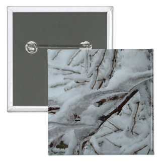 Snow Covered Tree Pin