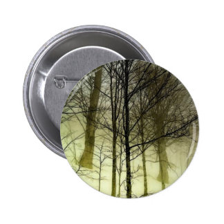 Snow Covered Trees Pinback Buttons