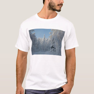 Snow covered trees T-Shirt