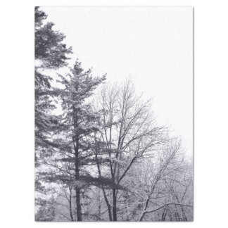 "Snow-covered Trees Tissue Paper 17"" X 23"" Tissue Paper"