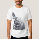 Snow-covered Trees: Vertical Tshirt