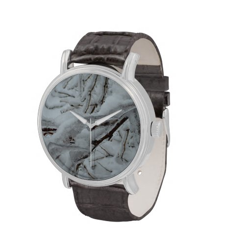 Snow Covered Trees Watches