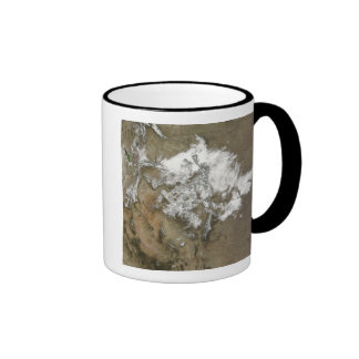 Snow covers the Rocky Mountains in United State Coffee Mug