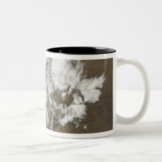 Snow covers the Rocky Mountains in United State Mug