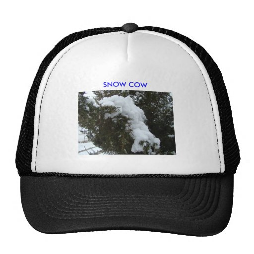 SNOW COW MESH HATS