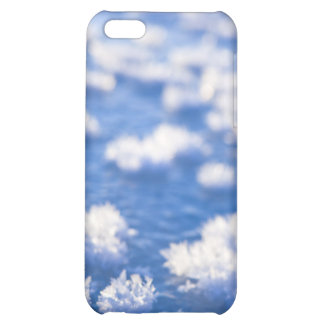 snow crystal iPhone 5C covers