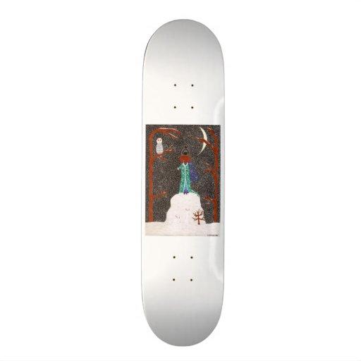 Snow Dachshund Skate Boards