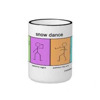 Snow Dance Snow Day Coffee Mug