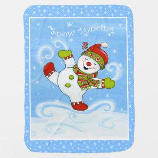 Snow Dancing Buggy Blanket