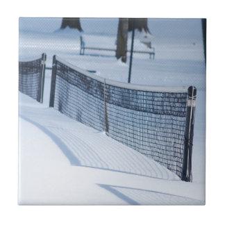 Snow Day Ceramic Tile
