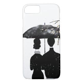 snow day, custom designed iPhone 7 case