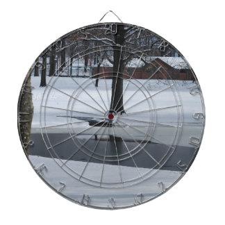 Snow Day Dartboard