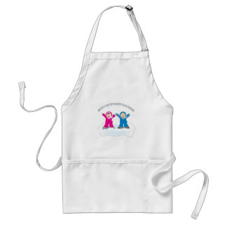 Snow Day Holidays Aprons