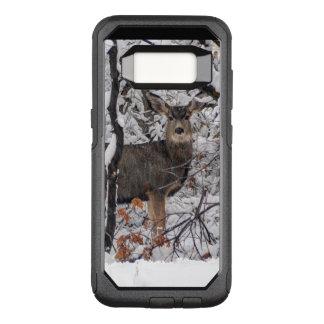 Snow Deer - Wasatch Front - Utah OtterBox Commuter Samsung Galaxy S8 Case