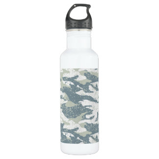 Snow disruptive camouflage 710 ml water bottle