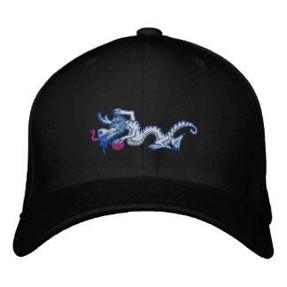 Snow  Dragon Embroidered Baseball Cap
