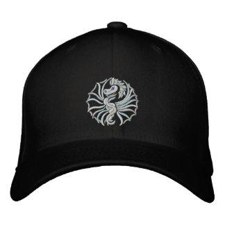 Snow   Dragon Embroidered Baseball Caps