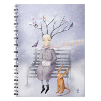 Snow Dreams Notebook