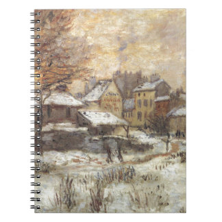 Snow Effect with Setting Sun by Claude Monet Notebooks