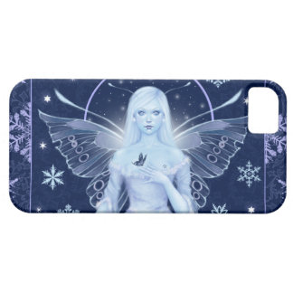 Snow Fairy with Snowflakes iPhone 5 Case