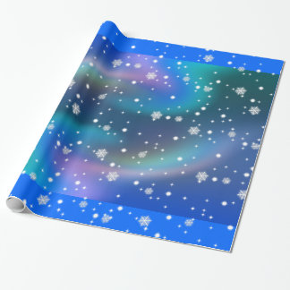 Snow Fall Wrapping Paper