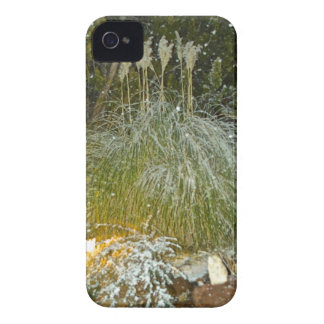 snow falling iPhone 4 cover