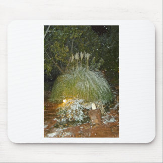 snow falling mouse pads
